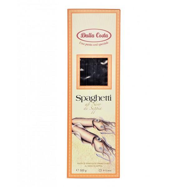 Спагетти Нери с чернилами каракатицы Dalla Costa  0,5 кг