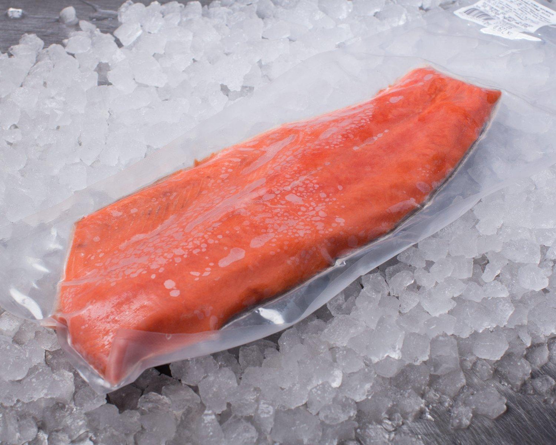 """Филе лосося с/м н/ш трим """"D"""" (1,8-2,2 кг)  вакуум/Чили/вес"""