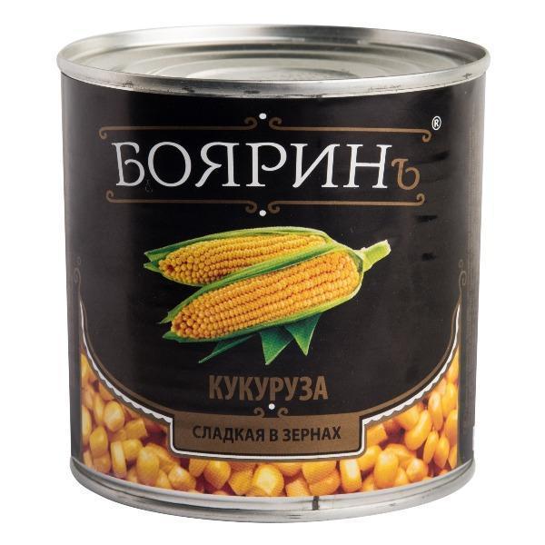 Кукуруза ж/б /0,425 г(12 шт/кор), изображение 1