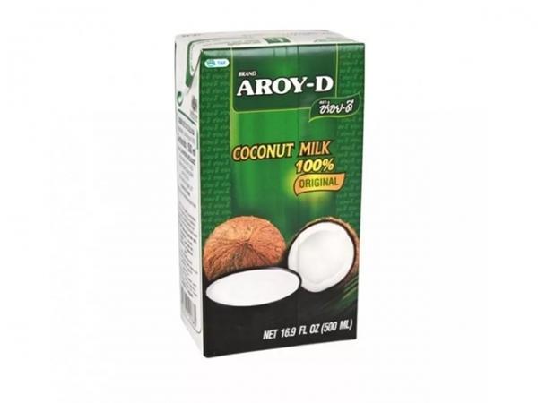 """Кокосовое молоко """"AROY-D"""" Tetra Pak, 0,5 л (24 шт/кор)"""