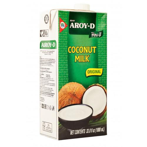 """Кокосовое молоко """"AROY-D"""" 1 л Тetra Pak (12 шт/кор)"""