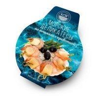 Морские деликатесы Kor Sea Co, с креветкой (235 гр/шт)