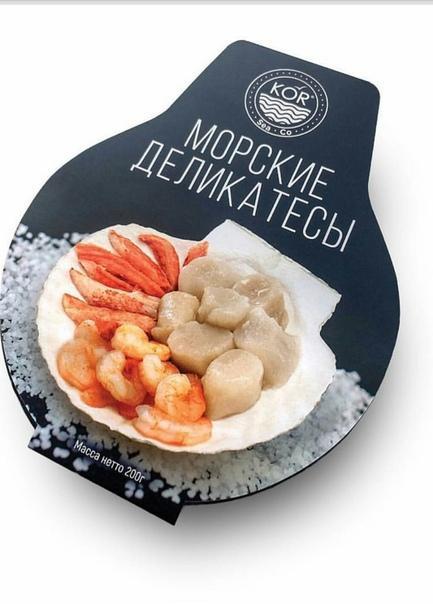 Морские деликатесы Kor Sea Co, Шедевр (235 гр/шт)