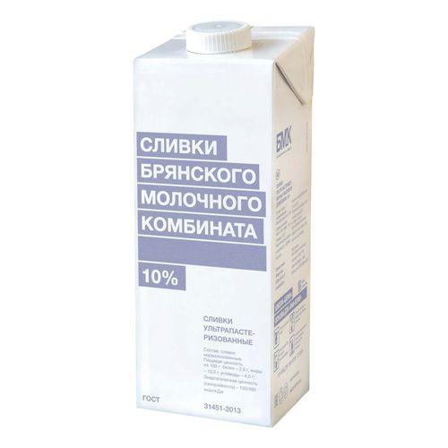 Сливки 33% БМК, 1 л (6 шт/кор)