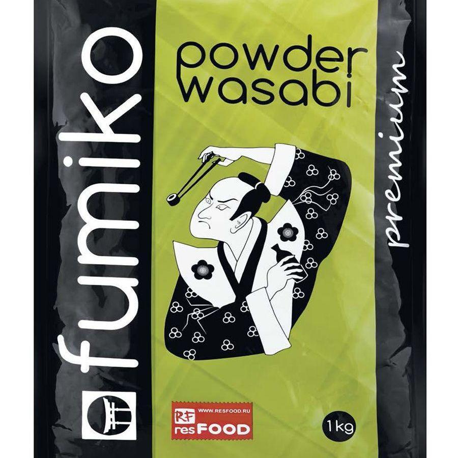 Васаби порошок Fumiko Premium 1,0 кг Китай  (10 шт./кор)