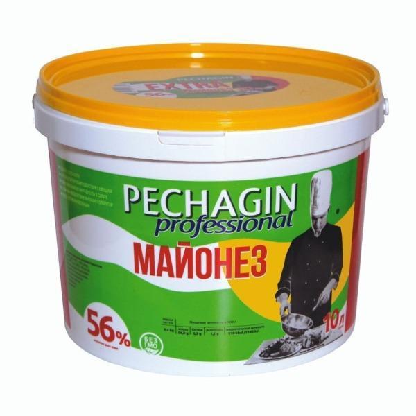 """Майонез 56% """"Pechagin  professional""""/ 10 л."""