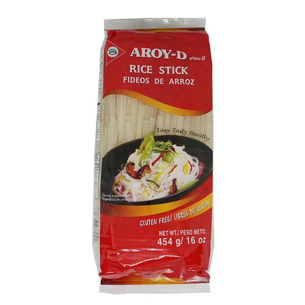 Лапша рисовая 5 мм AROY-D 454гр (30 шт/кор)