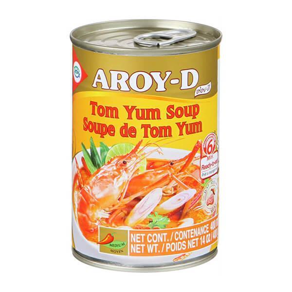 Суп Том Ям 400 г AROY-D. (24 шт/ кор.)