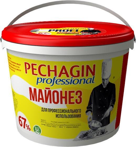 """Майонез 67 %""""Pechagin  professional""""/ 5 л."""