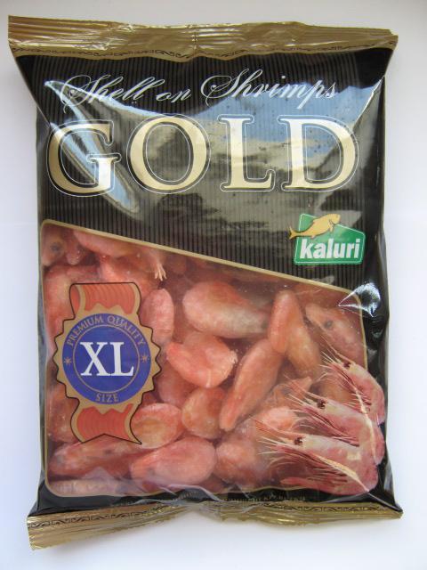 Креветка в/м Kaluri Gold 70/90 1кг (4,0 кг/кор)