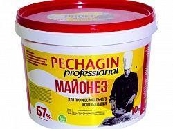 """Майонез 67% """"Pechagin  professional""""/ 10 л."""